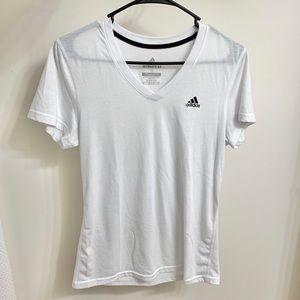 Adidas Ultimate 2.0 V-Neck Short Sleeve Shirt